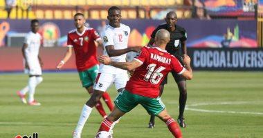 المغرب يهزم ناميبيا بأول هدف عكسي في امم افريقيا 2019.. فيديو