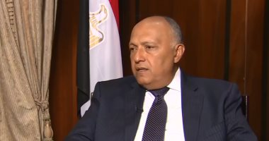 """وزير الخارجية يؤكد أهمية مشاركة الرئيس السيسى فى """"قمة السبع""""باعتباره رئيس الاتحاد الأفريقى"""