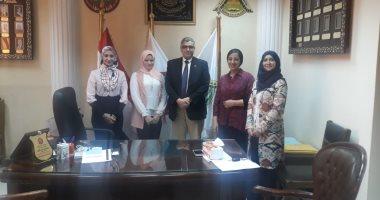 جامعة بنها تتعاون مع نقابة الصيادلة لدعم مشروع حضانات المستشفى الجامعى