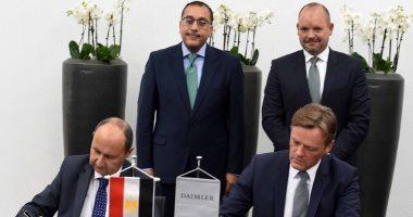 رئيس الوزراء يشهد توقيع اتفاقيات فى ألمانيا