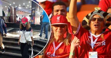 جماهير ليفربول تدعم محمد صلاح