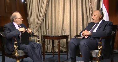 وزير الخارجية: علاقات مصر وروسيا تاريخية ومبنية على الاحترام المتبادل