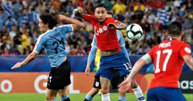 شاهد أهداف وملخص مباراة أوروجواي ضد تشيلى فى كوبا أمريكا
