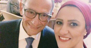 """هانى عازر لـ"""" اليوم السابع"""": """"أقول للشباب أفخروا ببلدكم مصر تشهد إنجازات عظيمة"""""""
