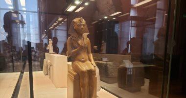 شاهد.. آثار مصر فى متحف اللوفر.. 600 قطعة تحكى تاريخ الفراعنة