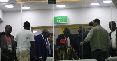 صور.. رئيس غانا يحضر مباراة منتخب بلاده وبنين باستاد الإسماعيلية