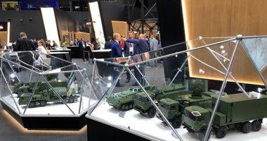 """صور.. """"روستيخ"""" الروسى يشارك بأكثر من 1000 منتج عسكرى فى منتدى """"أرميا 2019"""""""