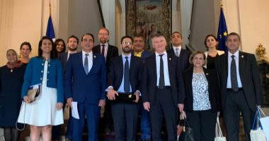 صور.. وفد من مجلس النواب المصرى فى زيارة لفرنسا لتعزيز العلاقات البرلمانية