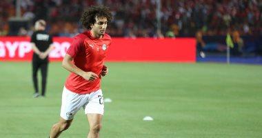 عمرو وردة لاعب منتخب مصر المستبعد