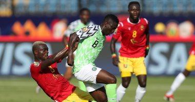 شوط سلبي بين نيجيريا وغينيا فى امم افريقيا 2019