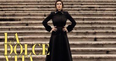 صور..ياسمين صبرى تتصدر غلاف مجلة vogue.. اعرف التفاصيل