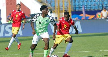 نيجيريا تتأهل لدور الـ 16 بأمم افريقيا بعد الفوز على غينيا