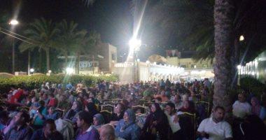 صور.. استمرار توافد الجماهير على مراكز الشباب بالغربية لمشاهدة مباراة مصر والكونغو