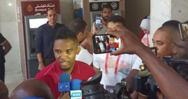 كاميرا سوبر كورة تسجل 3 رسائل من إيتو للاعبى الكاميرون قبل مواجهة غانا