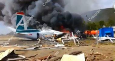 حادث طائرة تابعة للقوات الفضائية يودي بحياة طاقمها في شرق شمال روسيا