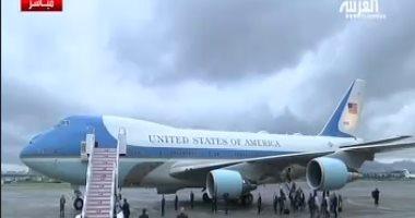 الرئيس الأمريكى يصل أوساكا اليابانية للمشاركة فى أعمال قمة العشرين