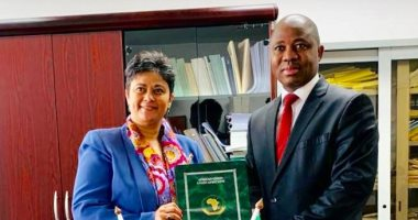 مستشارة الاتحاد الإفريقى تناقش تعويض ضحايا جرائم الرئيس التشادى السابق