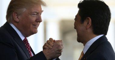 ترامب وآبى يتفقان على مبادئ اتفاق تجارة خلال قمة G7