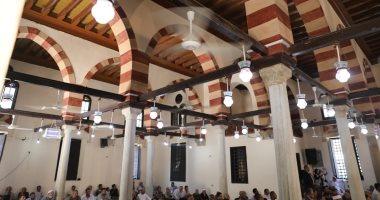 الآثار تفتتح مسجد قايتباى بمدينة الفيوم بعد إعادة ترميمه.. اعرف التفاصيل