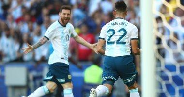 الأرجنتين ضد فنزويلا.. مارتينيز يتقدم للتانجو بهدف رائع فى الدقيقة 10