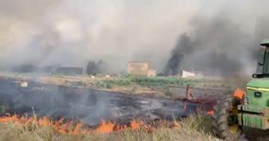 صور.. اندلاع الحرائق جراء موجة حارة غير مسبوقة فى فرنسا