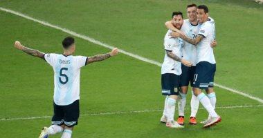 الأرجنتين تتقدم على تشيلى 1-0 عن طريق أجويرو بعد 12 دقيقة.. فيديو