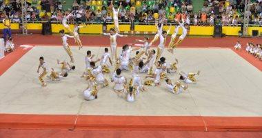 الجمباز ينظم الدورة الدولية للمدربين المستوي الأول بالمركز الأوليمبي بالمعادي
