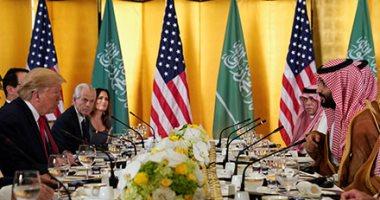 لقاء ولى عهد السعودية الأمير محمد بن سلمان وترامب فى قمة العشرين