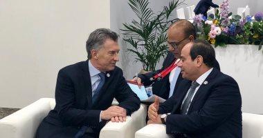 """""""ماكرى"""" يشيد بما حققته مصر من تقدم فى الإصلاح الاقتصادى والتنمية الشاملة"""
