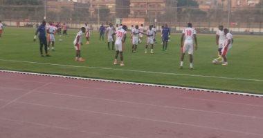 صور.. منتخب بوروندي يستعد لمواجهة غينيا فى المركز الأوليمبي بالمعادي