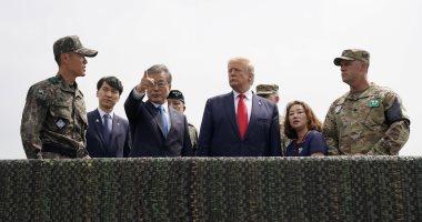 رئيس كوريا الشمالية يعبر الحدود إلى كوريا الجنوبية مع ترامب