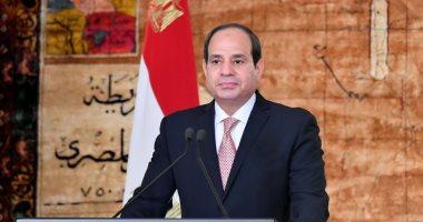 """""""مصر كلها معاك يا سيسي"""" يتصدر تريند تويتر.. ومغردون: الرئيس بيبنى مصر"""