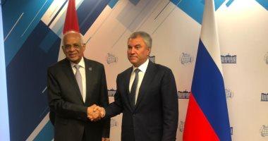 رئيس مجلس النواب : الشراكة المصرية الروسية شراكة استراتيجية متنامية
