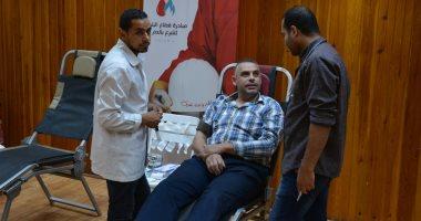 العامة للبترول تشارك فى مبادرة التبرع بالدم بوزارة البترول