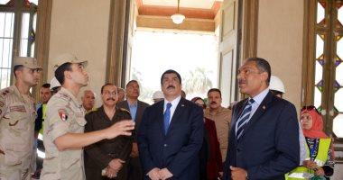 صور .. محافظ القليوبية: انشاء مرسى نهرى لخدمة قصر محمد على بشبرا الخيمة