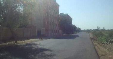 """للحد من الحوادث""""..أهالى قرية الكراعى بسوهاج يطالبون بعمل مطبات صناعية"""