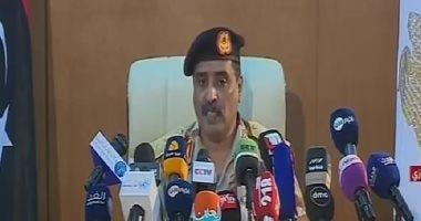 المسمارى: معركة الجيش الليبى أصبحت ضد أطماع تركيا فى الأراضى الليبية