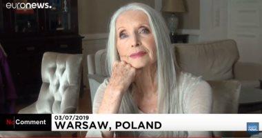 """فيديو.. بعد بلوغها 84 عامًا.. """"هيلينا"""" تدق باب الموضة والأزياء"""