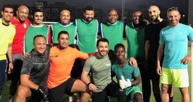 مباراة استعراضية تجمع أساطير مصر وأفريقيا على هامش كان 2019 -