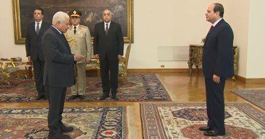 رئيس مجلس القضاء الأعلى يهنئ الرئيس السيسى بعيد الأضحى المبارك