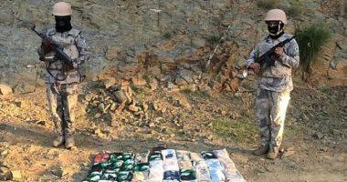 قوات حرس الحدود السعودية تحبط محاولات تهريب 1.27 طن حشيش من اليمن