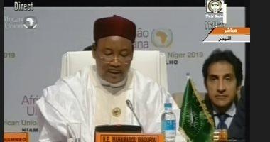 رئيس النيجر: قمة (إيكواس) تناقش تنامى الإرهاب فى دول غرب إفريقيا
