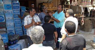 صور .. رئيس مدينة قويسنا يقود حملة تفتيش مكبرة بشوارع قويسنا