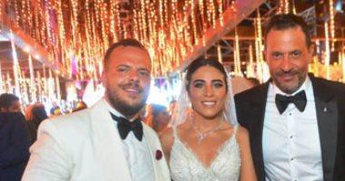 أول تعليق من ماجد المصرى بعد زفاف نجله أحمد