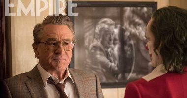 فونكيس وجهاً لوجه مع روبيرت دى نيرو فى فيلم Joker
