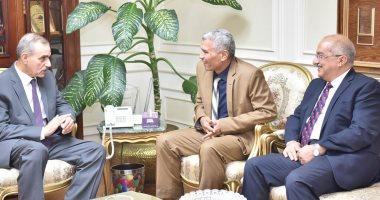محافظ أسيوط يلتقى رئيس هيئة تنمية الصعيد ويعلن دراسة إقامة مشروعات تنموية