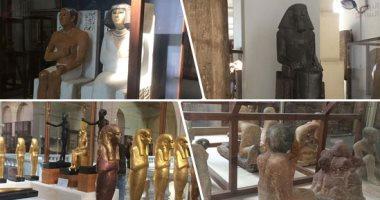 شاهد مقتنيات المتحف المصرى بالتحرير × 45 صورة وفيديو