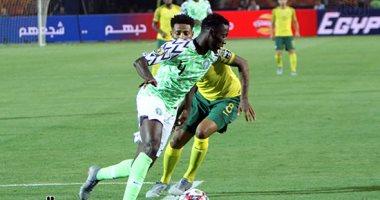 نيجيريا تتقدم على جنوب إفريقيا 1-0 فى دور الـ8 بأمم أفريقيا 2019