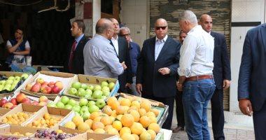 محافظ القاهرة: سوق سوهاج مراقبة بالكاميرات وتسع 126 بائعا بتكلفة 3 ملايين جنيه -