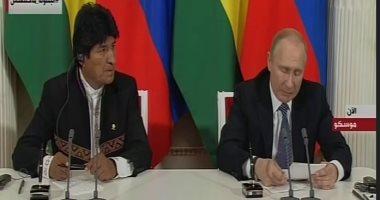 """بوتين: التدخل الخارجى فى فنزويلا """"غير مقبول"""".. ويجب احترام سيادة الدول"""
